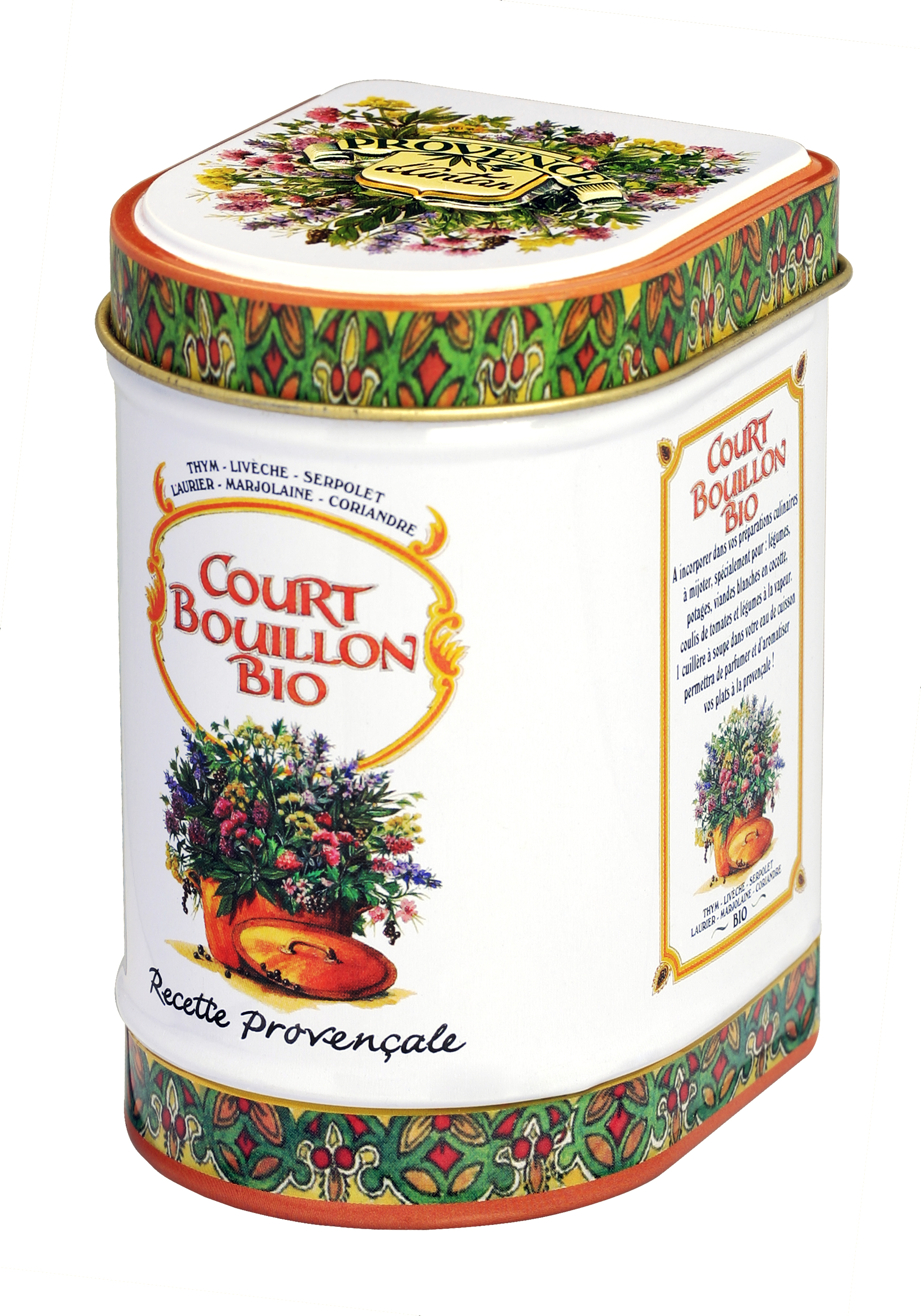 Aromates herbes et fleurs court bouillon - Bouillon d os ...